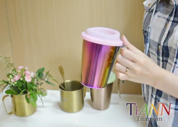 鈦杯 中鋼純鈦 鈦碗 鈦筷 鈦餐具  鈦安餐具 啤酒杯 TiANN Titanium cup